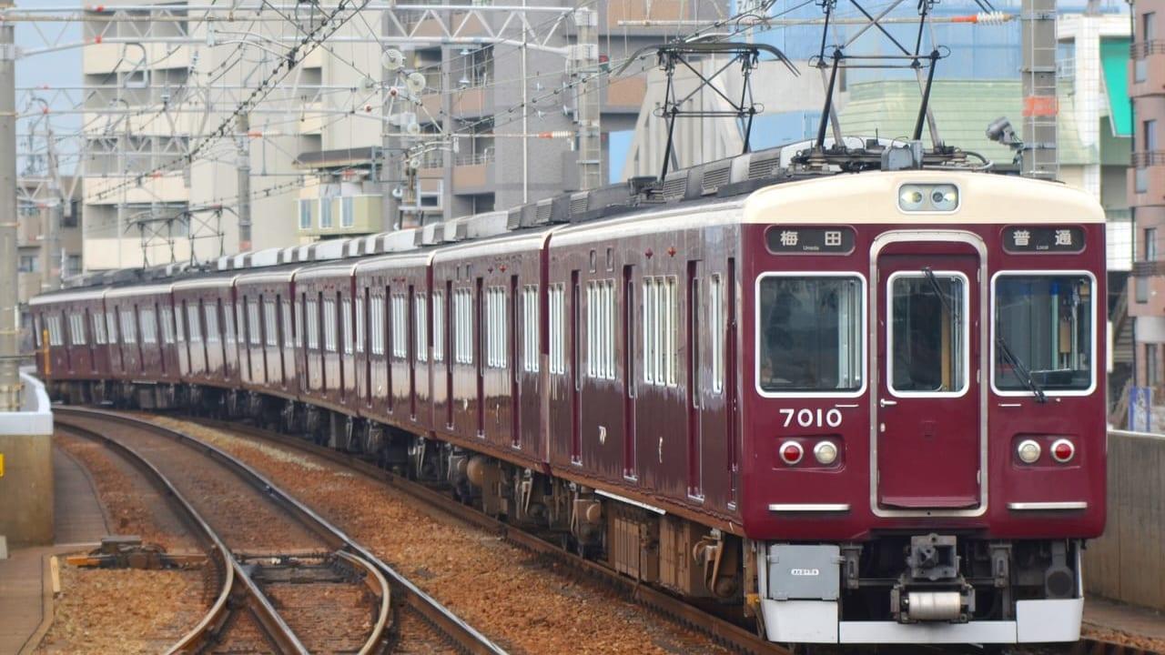 神崎川駅人身事故