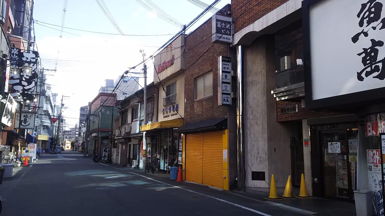 JR塚本駅 東口 ロータリー 東側