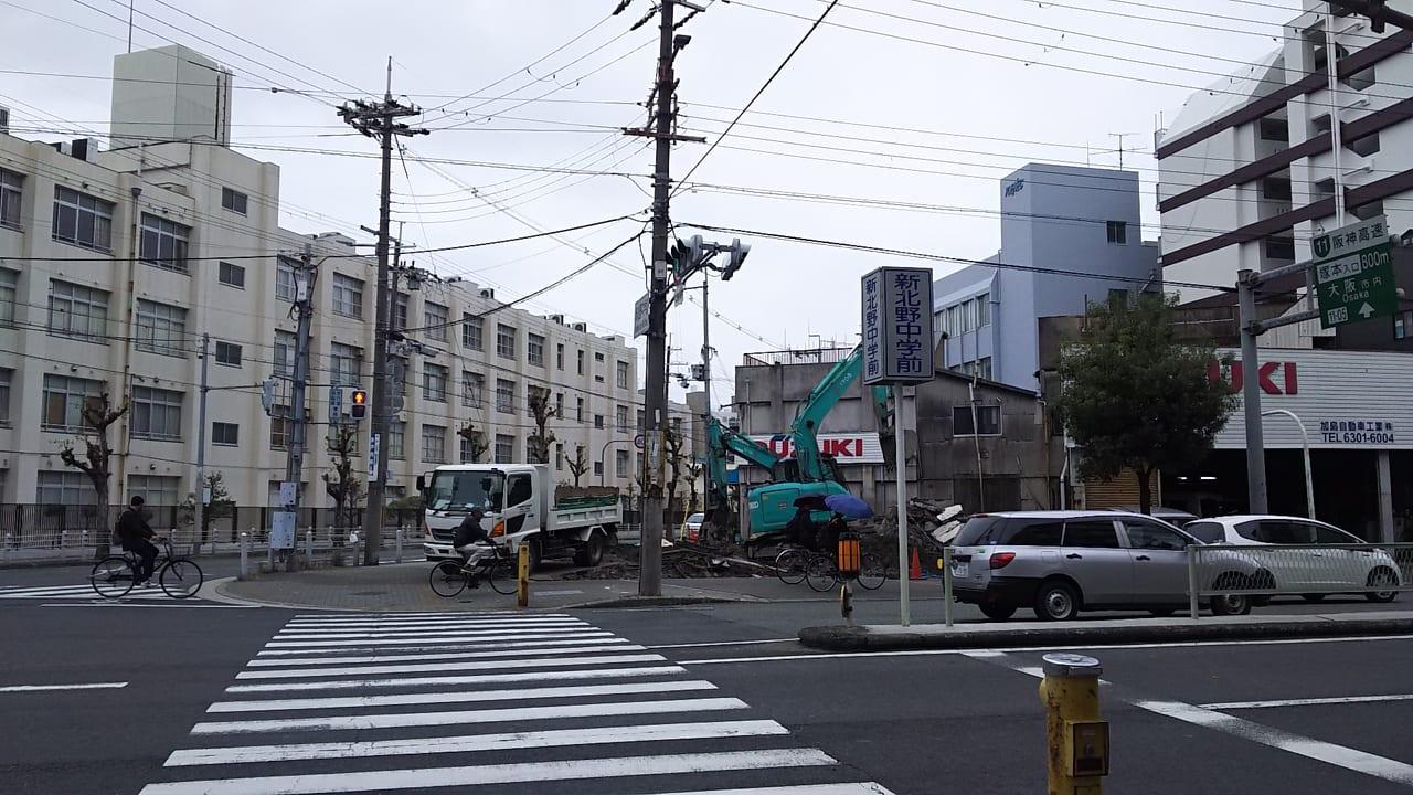 2019年11月28日 高田石油 跡地