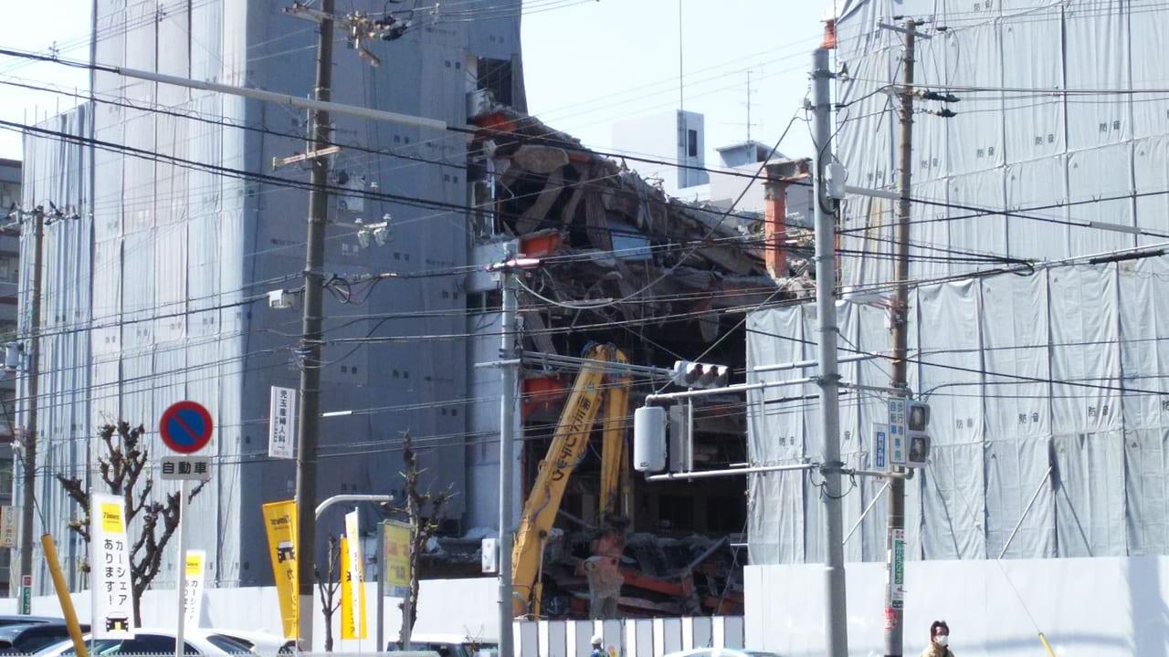 2020年3月19日 ライフ 新大阪店 防音シート内部