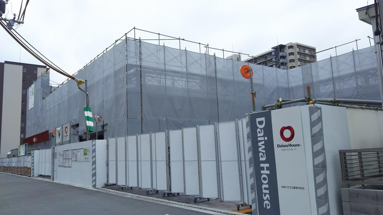 2020年5月18日 三国本町 佐竹食品 店舗 予定地の外観 北側から撮影