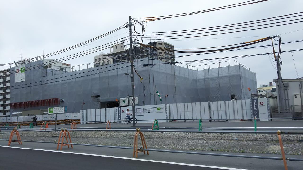 2020年5月18日 三国本町 佐竹食品 店舗 予定地の外観