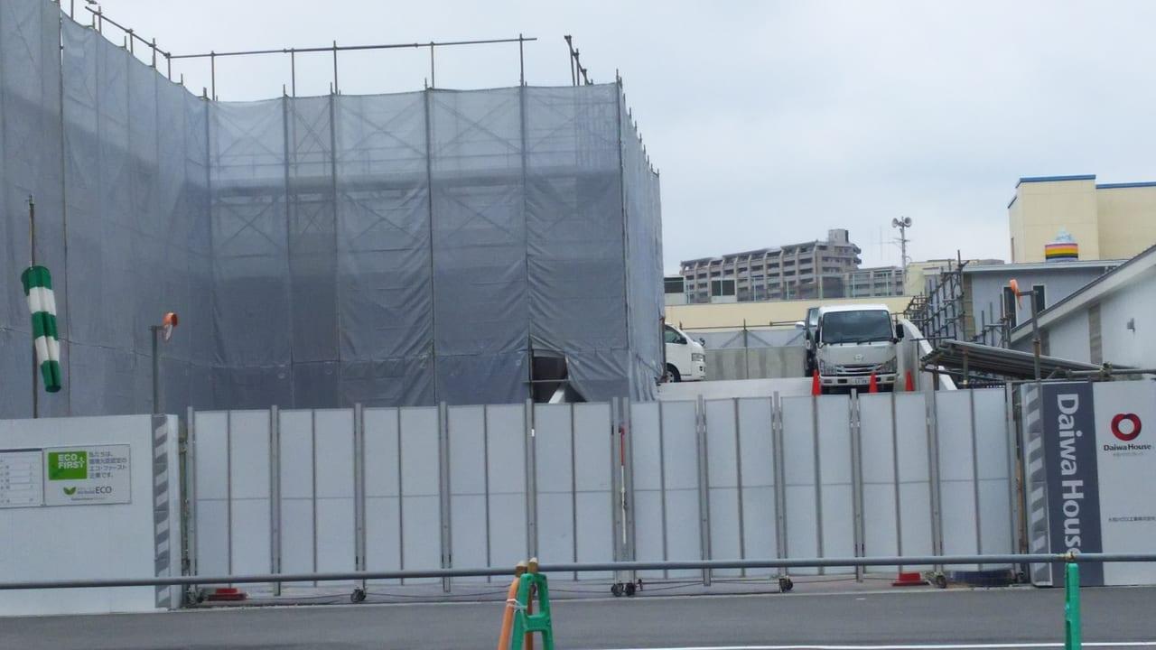 2020年5月18日 三国本町 佐竹食品 店舗 予定地の北側スロープ
