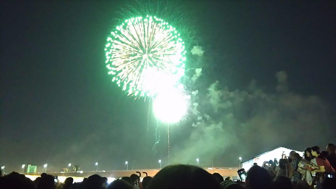 第30回 なにわ淀川花火大会 打ち上げ花火