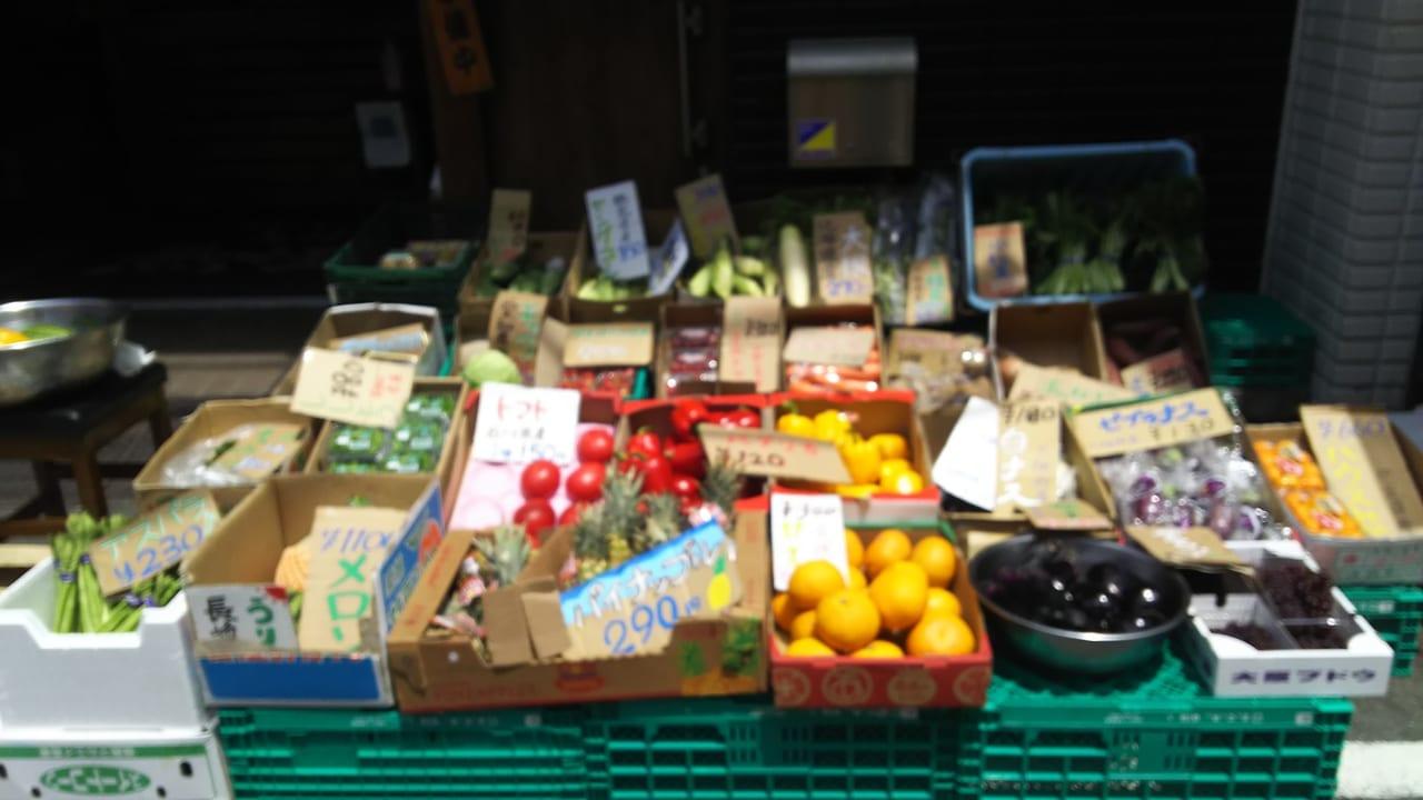熱中八百屋 十三店で販売されている お野菜