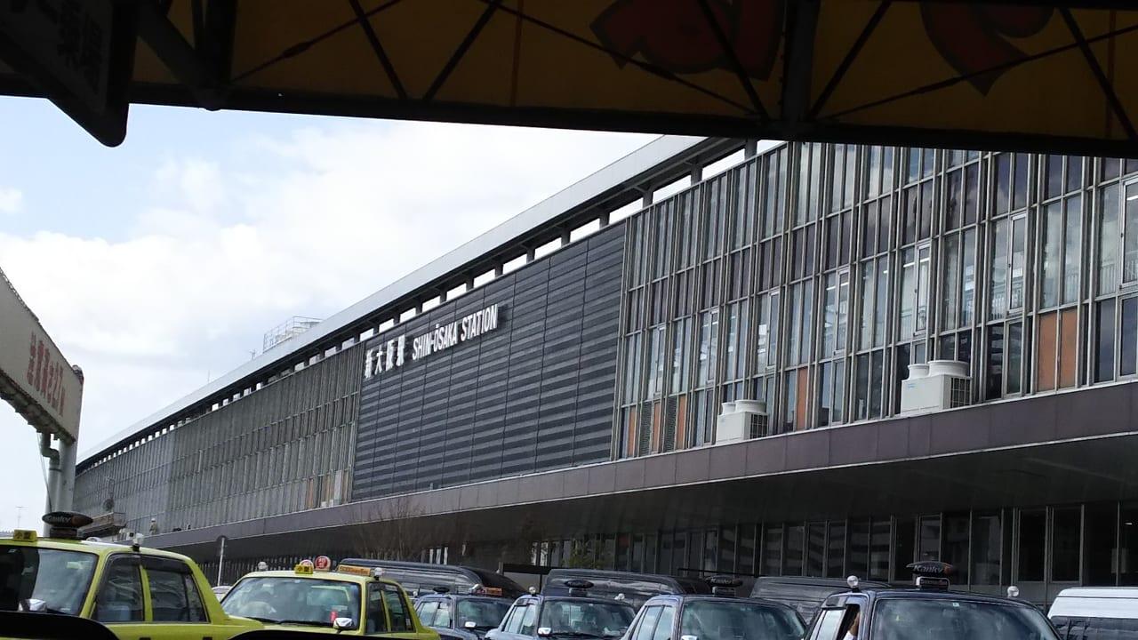 JR京都線 新大阪駅 3階 タクシー乗り場