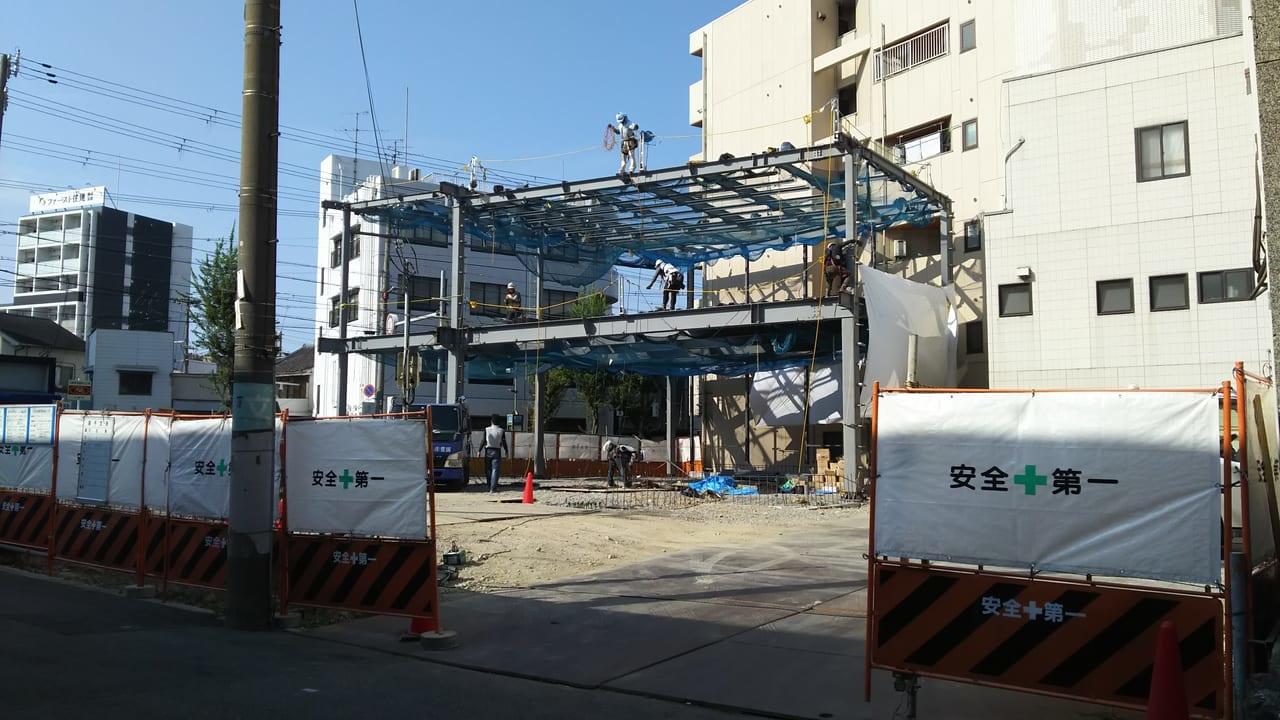 2020年8月25日 姫島駅前ビル 跡地
