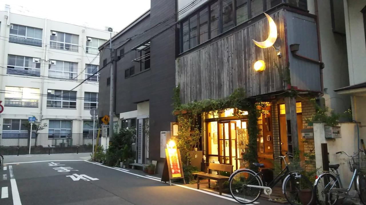 木川小学校の 東側にある 海月文庫