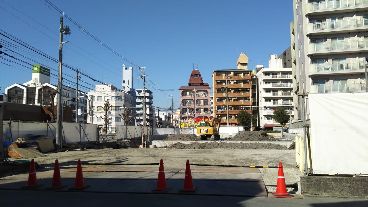 2021年1月21日 マルハチ 新大阪店 東隣 駐車場