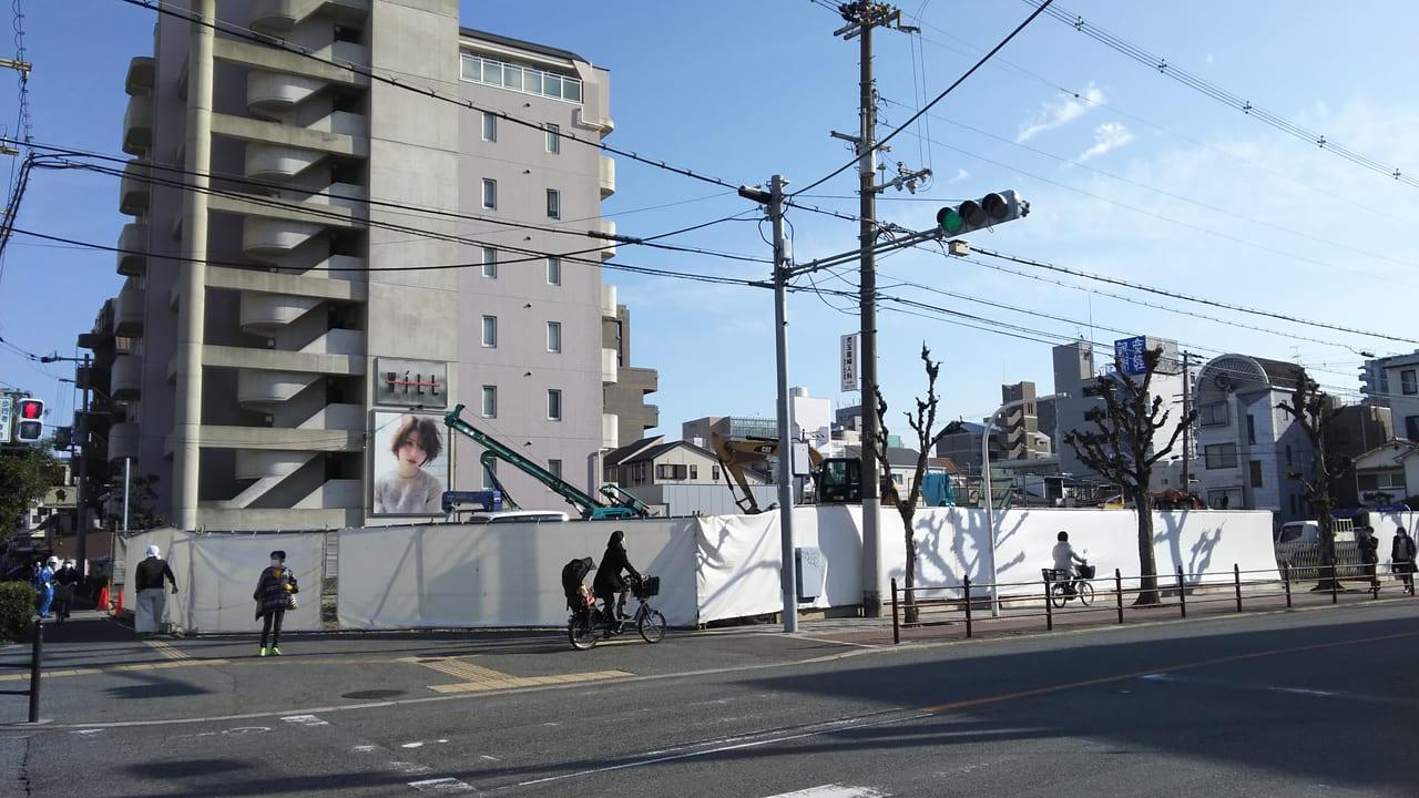 2020年12月10日 マルハチ 新大阪店 東隣 駐車場