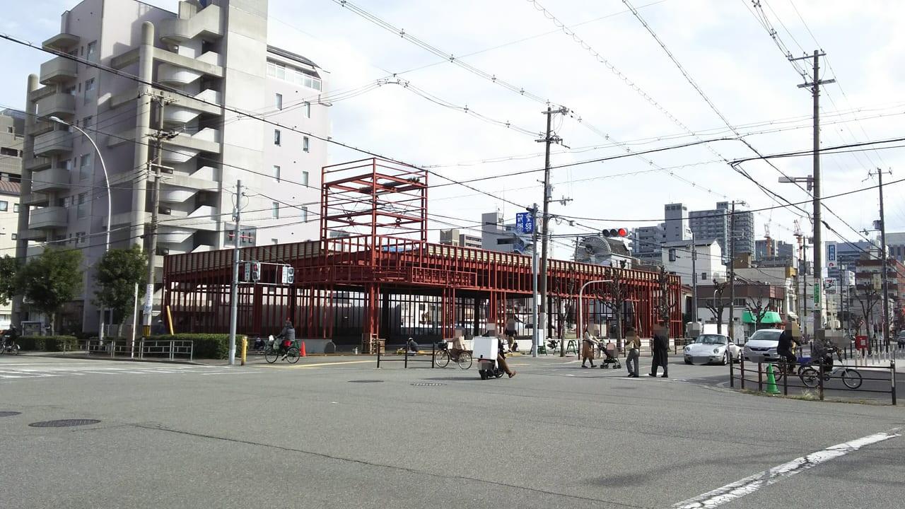 2021年3月1日 マルハチ 新大阪店 東隣 駐車場