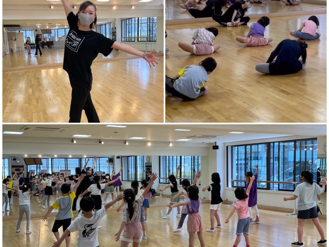 関西ジュニアスポーツ能力開発協会による 無料ダンス教室