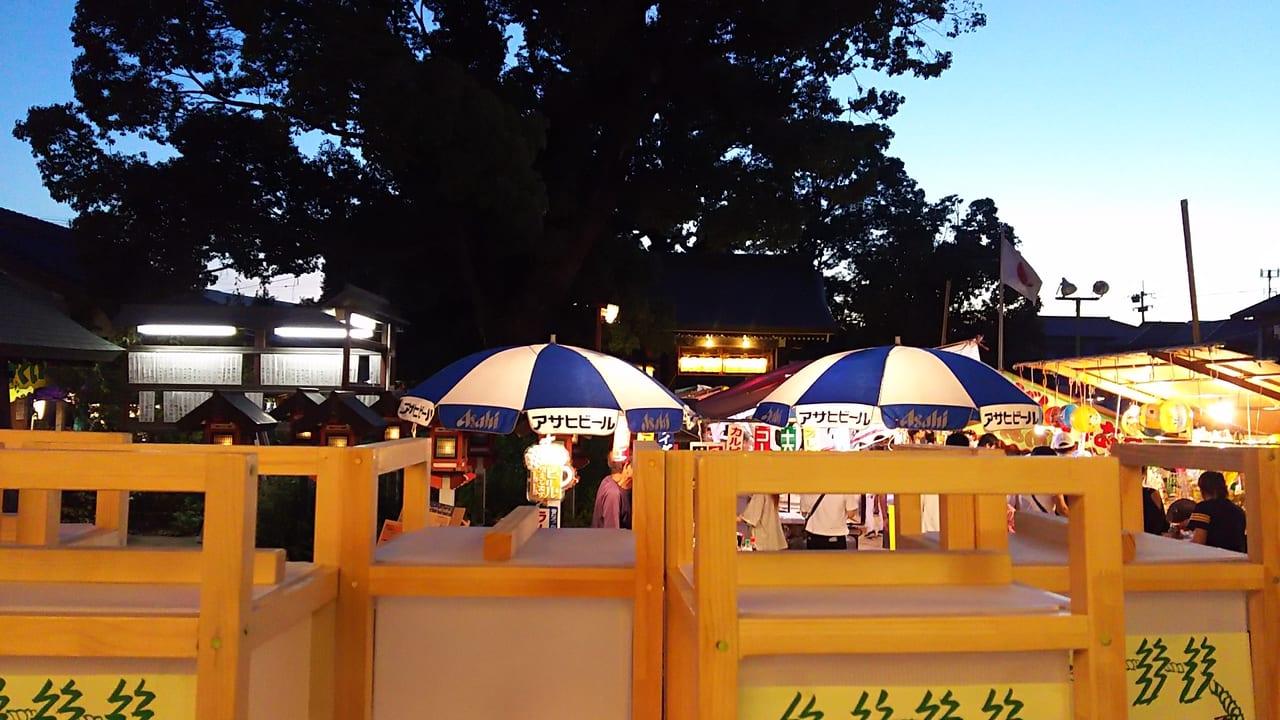 2018年 香具波志神社 夏祭り